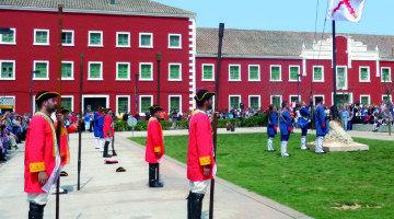 Es Castell acoge la recreación del Tratado de Amiens
