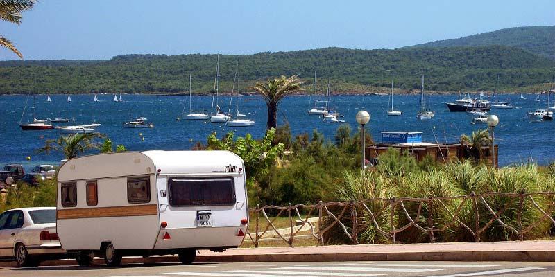 Caravana en Fornells - Menorca