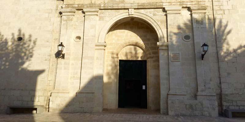 Fachada Iglesia del Roser - Es Castell