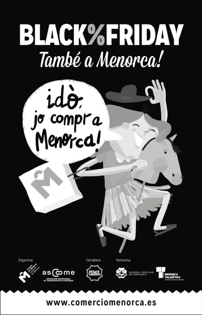 Black Friday Menorca