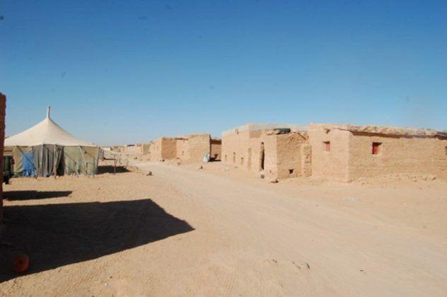 Campo de refugiados saharauis