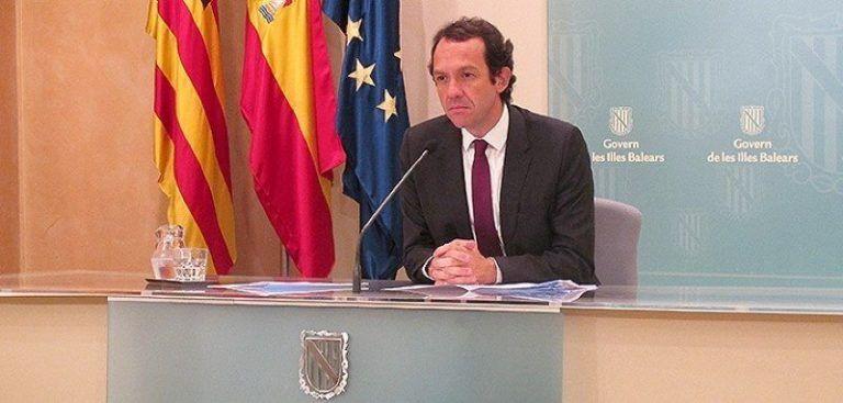 El portaveu del Govern Balear Marc Pons