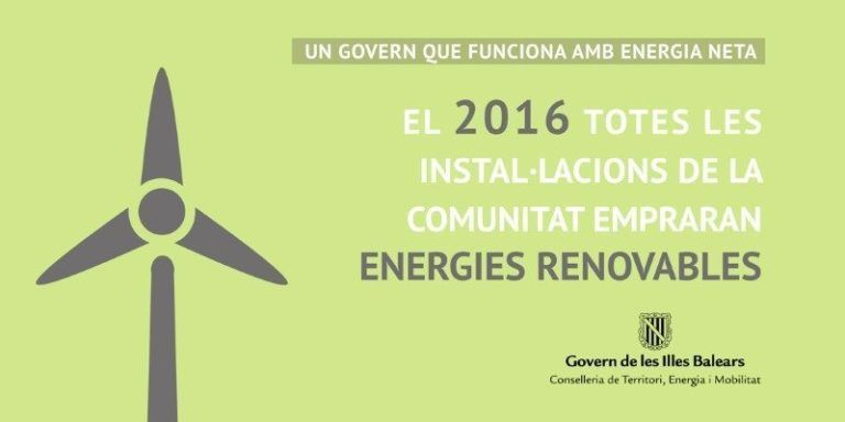 Energies renovables Govern