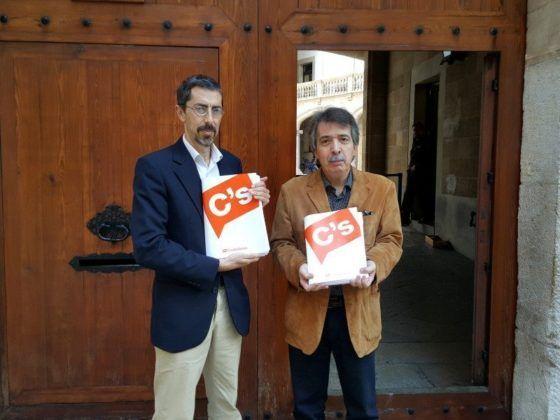 Fernando Navarro y Xavier Pericay