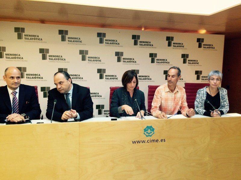 Representantes UTE Es Milà en el Consell