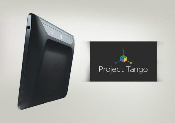Tableta Project Tango