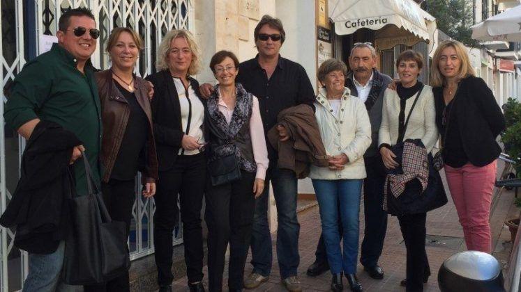 Águeda Reynés y Pons Vila con el PP de Es Castell