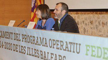 El pressupost dels Fons FEDER augmenta un 55 % a Balears