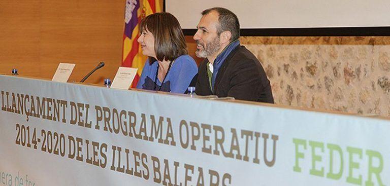 Biel Barceló i Francina Armengol