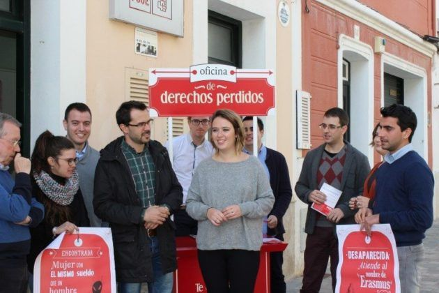 Candidata del PSOE al Senat Gràcia Mercadal
