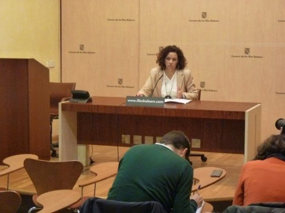 Catalina Cladera, consellera d'Hisenda del Govern balear