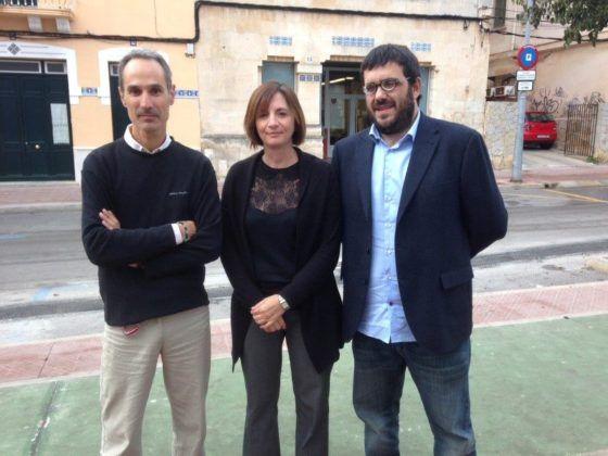 Maite Salord, Javier Ares i Vicenç Vidal