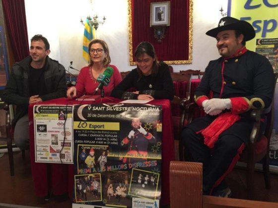 Presentación V San Silveste Nocturna Ciutat d'Alaior 2015