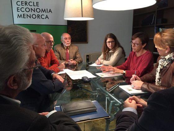 Reunión candidatas PP Menorca Cercle Economia