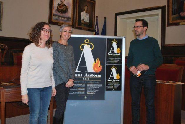 Conxa Juanola, Hector Pons y María Membrive