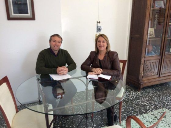 Lluís Camps y Águeda Reynés