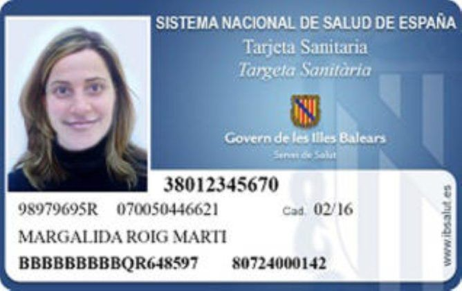 Tarjeta sanitaria Balears