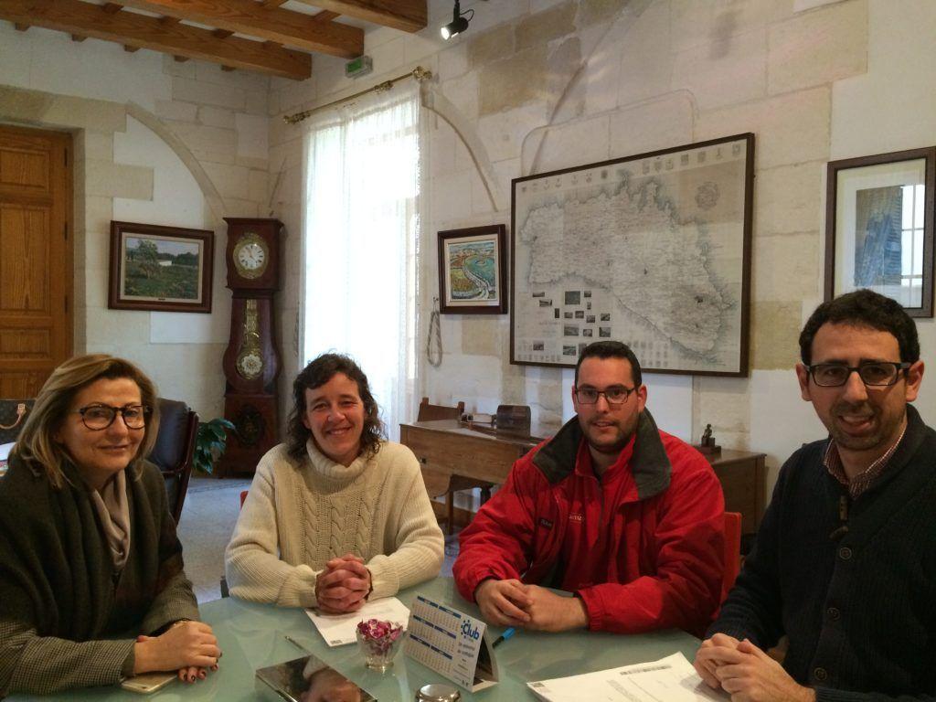 Coia Sugrañes, Cristóbal Marqués, Tere Allès i Isaac Pons