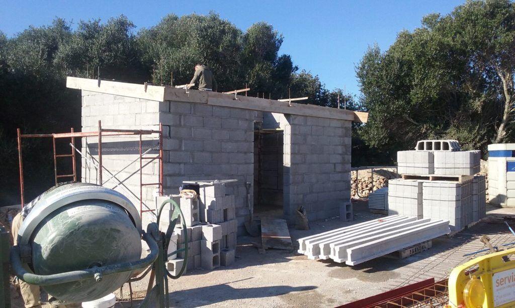 Construcción buzones concentrados en S'Algar