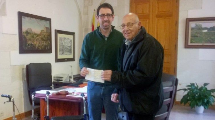 Donativo al Ayuntamiento de Alaior