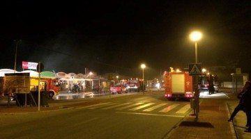 Un incendio destruye la sala de fiestas Copacabana en Son Bou