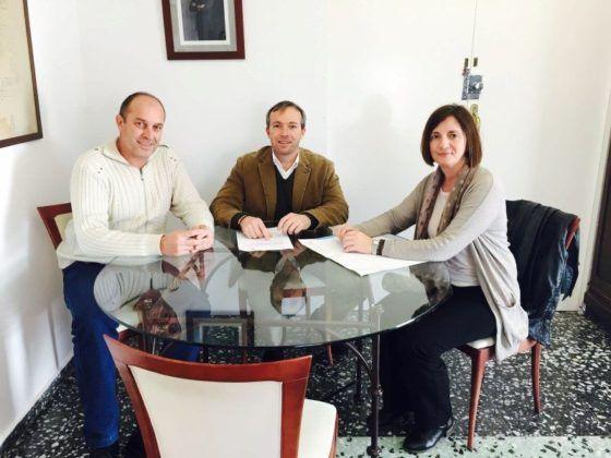 Lluís Camps, Maite Salord i Florencio Conde