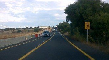Obres carretera Me1 tram Maó-Alaior