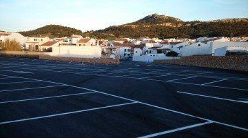 Es Mercadal inaugura el nou parking del Pla de ses Eres