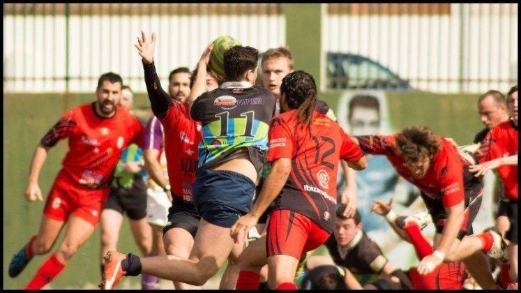 Partido rugby entre el Menorca y el Ibiza
