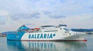 Un hombre fallece a bordo de un buque de Balearia