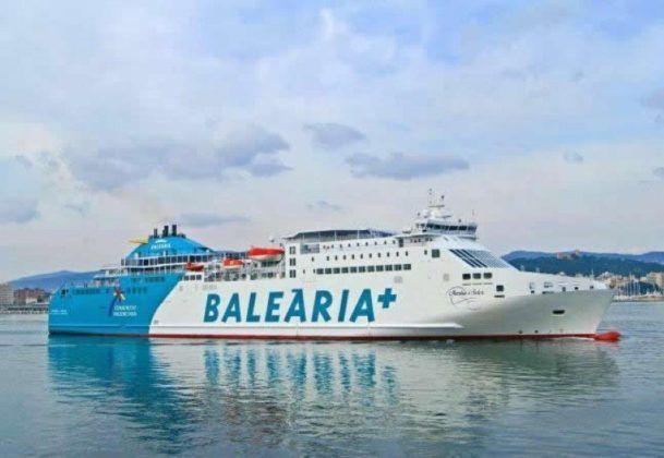 Buque Martín Soler de Balearia