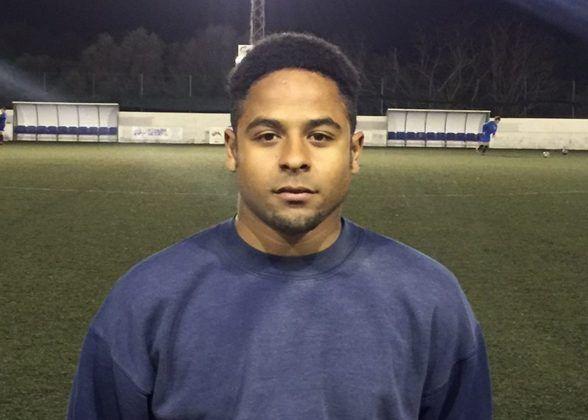 Ricky, jugador del CCE Sant Lluís