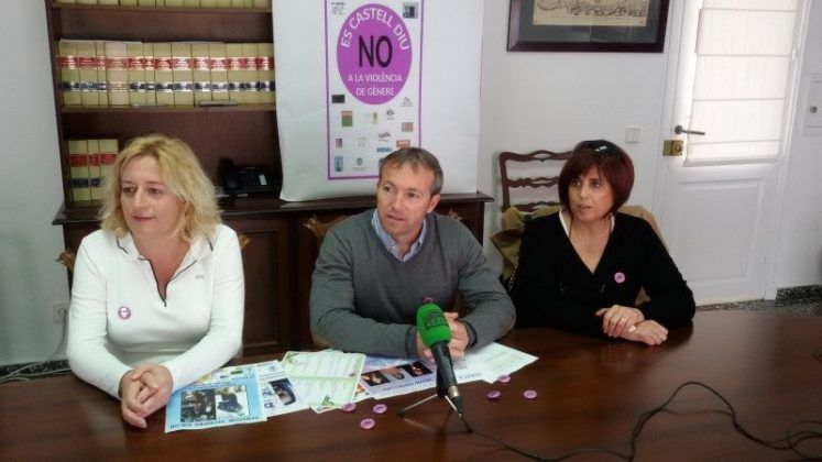 Lluis Camps, Begoña Mercadal y Matilde Mamajón
