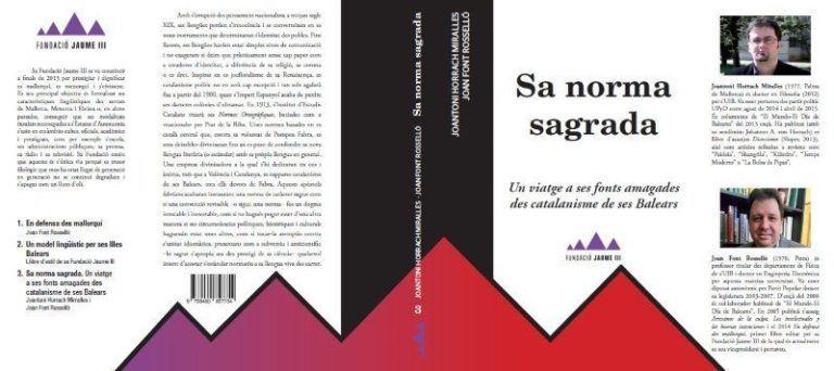 Portada llibre Norma Sagrada