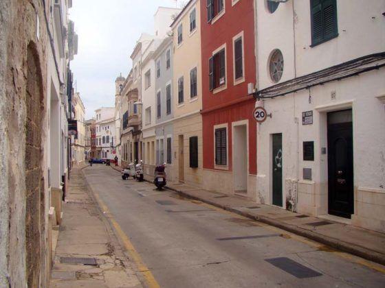 Carrer Sant Josep de Maó