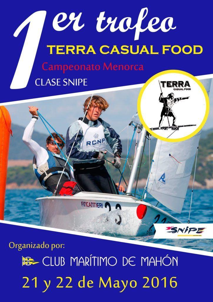 Cartel Campeonato Menorca clase Snipe