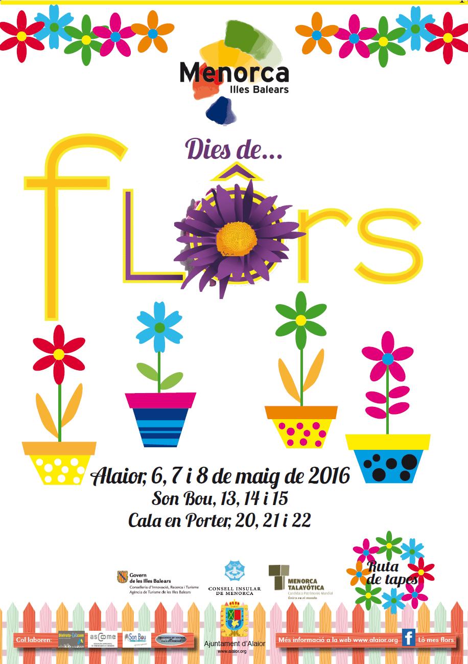 Cartel Dies de Flors 2016