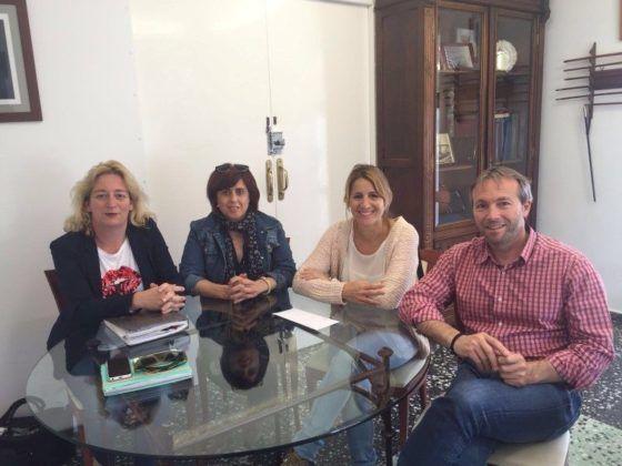 Lluis Camps, Begoña Mercadal, Matilde Mamajón y Victoria Coll
