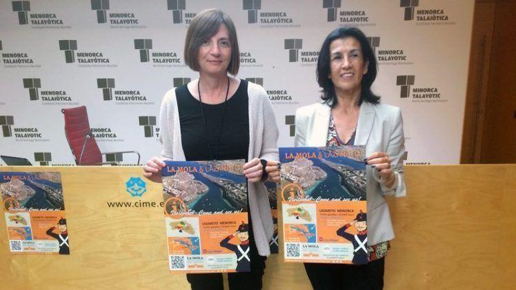 Maite Salord i Joana Català