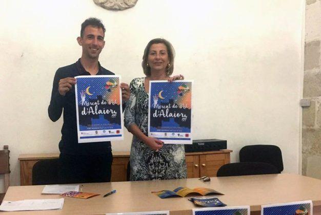 Sugrañes i Quintana Mercat de Nit d'Alaior 2016