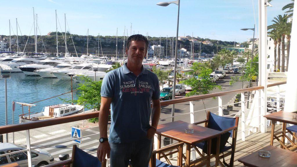 Damián Borrás - Entrenador Equipo Olímpico de Vela clase Láser