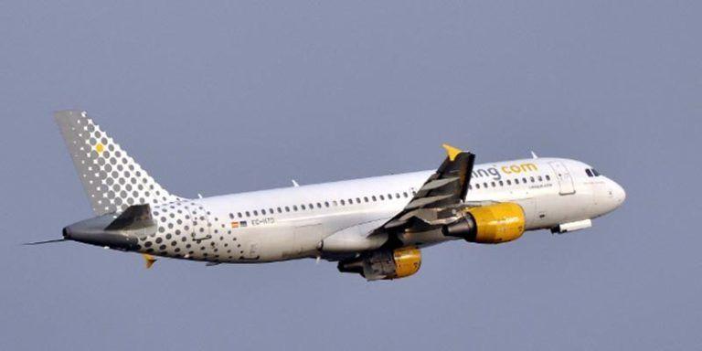 Aeronave de la compañía Vueling