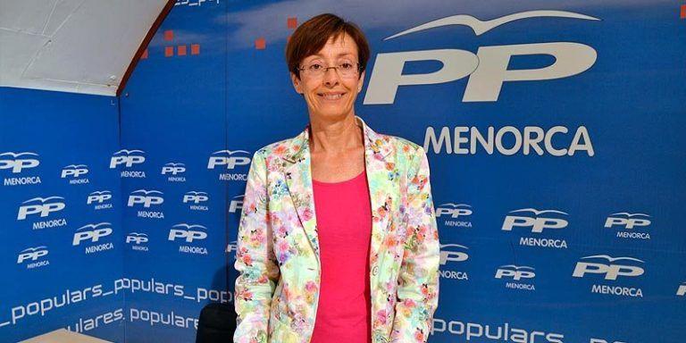 Candidata del PP Menorca al Senado Juana Francis Pons Vila