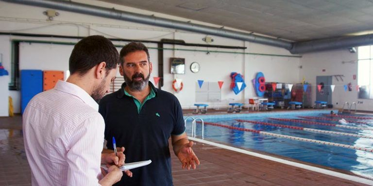 El regidor d'esports, Carlos Montes