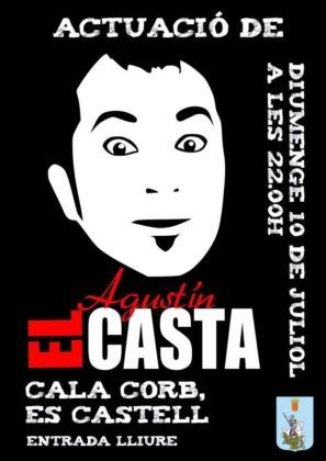 Cartel Agustín El Casta