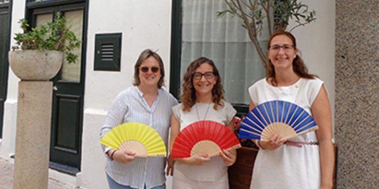 Abanicos para la campaña de verano 2016 de MÔ Comercial
