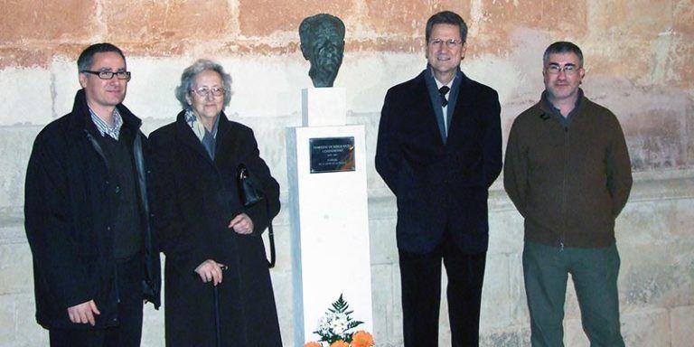El bust de Borja Moll a Ciutadella