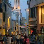 Comercios en el centro de Mahón
