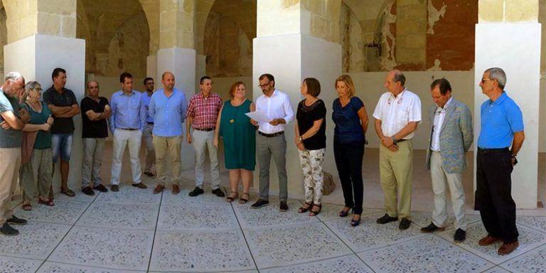 La comissió de seguiment de les obres del Convent de Sant Diego d'Alaior
