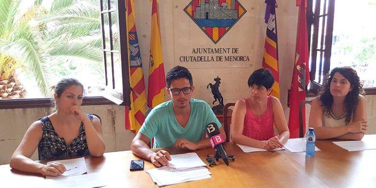 L'equip de Govern de Ciutadella de Menorca